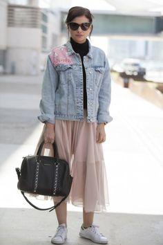 Miriam Giovanelli Madrid Fashion Week for Vogue.es Styled by Belén Rastrollo