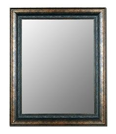 Hitchcock Butterfield Home Decorative 58 x 85 Milano Bronzed Black Framed Wall Mirror *** Click image to review more details.