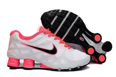 new styles 36b7e 40f6f Nike Shox Turbo+ 12 Frauenschuhe Weiß Rosa Orange Nike Shoes For Sale, Nike  Shoes Cheap