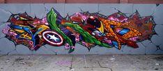 avenger graffiti - Google Search