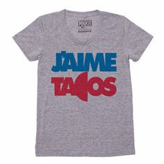 J'aime Tacos Tee Women's, $24, now featured on Fab.