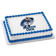 NFL Players Andrew Luck PhotoCake® Image