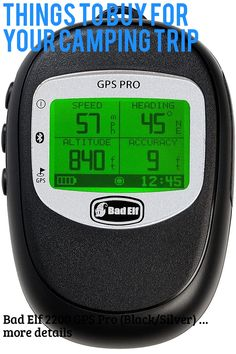 (This is an affiliate pin) Bad Elf 2200 GPS Pro (Black/Silver)
