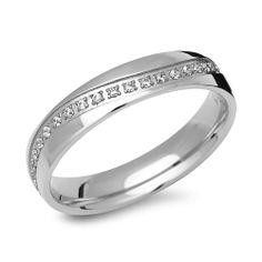 Entdecken Sie Ihren feinen Damenring aus Edelstahl 19 Steine bei The Jeweller.