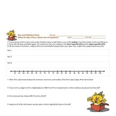 This 12 page mini-lesson/bundle has 3 engaging assignments.  Students are expected to find measures of central tendency, while creating and interpr...