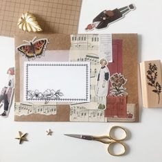 Aesthetic Letters, Pen Pal Letters, Decorated Envelopes, Pen Pals, Diy Crafts For Gifts, Vintage Lettering, Bullet Journal Spread, Scrapbook Journal, Lost Art