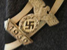 1939 clasp to the iron cross class 1914 The Third Reich, Luftwaffe, Badge, German, Iron, Deutsch, German Language, Air Force, Badges