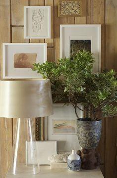 #decor #design #inspiration #modern #interior #styling #lamp #plant #art