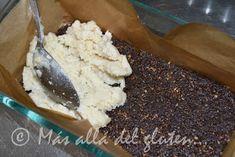"Más allá del gluten...: Barritas de Coco y Chocolate ""RAW"" (Receta GFCFSF, Vegana, RAW) Healthy Sweets, Sin Gluten, Mashed Potatoes, Pudding, Ice Cream, Chocolate, Ethnic Recipes, Desserts, Food"