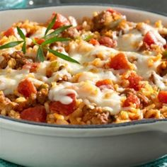 Quick Italian Skillet Dinner - Allrecipes.com