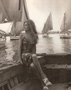 Dalida in Egypt. Dalida was an Egyptian Italian born and raised in Cairo. She was crowned Miss Egypt (1954) before she moved to Europe to begin her massive singing career. To hear Dalida in Arabic: http://www.youtube.com/watch?v=Jai56K-Qb7w