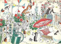 Hans Fischer illustration (I think)