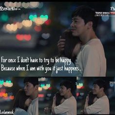 Oh My Ghost ☆#Korean #drama Drama Quotes, Movie Quotes, Ex Girlfriend Club, Oh My Ghostess, Cho Jung Seok, Emergency Couple, Trying To Be Happy, Drama Fever, Park Bo Young