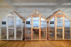 """Greenhouses provided a practical, affordable, and mobile alternative to traditional conference or break-out rooms. As Shelly says, """"Offices can often pay 25k+ for private rooms when it comes to construction, permits, and architectural drawings."""" Through <a href=""""http://www.wayfair.com/"""" target=""""_blank"""">Wayfair</a>, we found a solution at only $2,500. Literally a tenth of the price! The greenhouses had the added benefit of neatly dividing the loft into spaces for meetings, dining area, and…"""