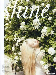 [HQ SCANS] 140720 f(Krystal) = ELLE Korea August Issue [10P] | f(♥)