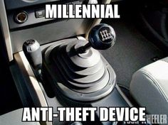 How to keep a millenial from stealing your car Funny anti-theft hilarious humor lmao millenials Funny Shit, Haha Funny, Funny Stuff, Funny Things, Random Stuff, Jeep Funny, Random Things, Funniest Things, Crazy Funny