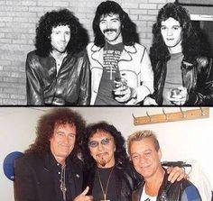 Brian May, Tony Iommi, EVH