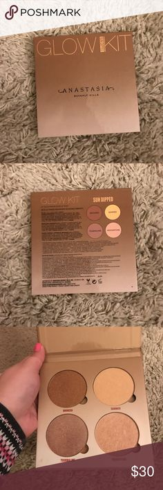 Anastasia glow kit Never used glow kit! Bought this towards the end of summer when i started to lose my tan. Beautiful shades! Excellent condition Anastasia Beverly Hills Makeup Bronzer