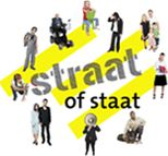 Het programma Straat of Staat stimuleert en versterkt sociale samenhang in de wijk, door het duurzaam verbinden van inwoners en professionals. In de wijk, laagdrempelig, met een interactieve 2.0 aanpak. Met als proramma-team een mix van verander-, communicatie- en audiovisuele – specialisten.
