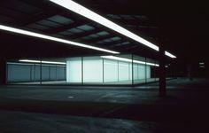 Gerhard Merz: PAVIILLON - PASSAGE - FRAGMENTE, 2000. Hannover, Güterbahnhof.