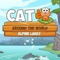 cool Cat Around the World  In this cute physics puzzle the cat is travelling again to taste the world's best salami and admire the beautiful landscape of the alpine lakes region... https://gameskye.com/cat-around-the-world/