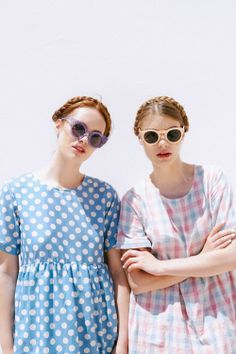 TWP Summer Editorail 'Off The Beaten Track' featuring T-Shirt Smock Dress Blue Polka T-Shirt http://www.thewhitepepper.com/collections/dresses/products/t-shirt-smock-dress-blue-polka Smock Dress Pink Check http://www.thewhitepepper.com/collections/dresses/products/t-shirt-smock-dress-pink-check