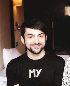 Angelic face and voice and smile and .... Mitch Grassi