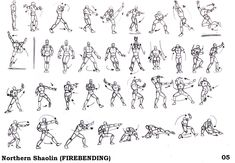 fire bending poses - Google Search