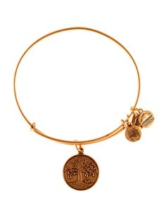 Boutique dos Relógios | Produtos | Joalharia / Bijoutaria | Alex and Ani | A&A Flat Charms Tree of Life II GldBrac