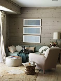 """Greyed colors, greyed stain panels.  No need to """"dust""""!"""