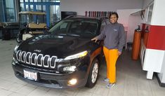 "Jerrie, wishing you many ""Miles of Smiles"" in your 2018 JEEP CHEROKEE!  All the best, Landmark Chrysler Jeep Fiat and Martin Hammers."