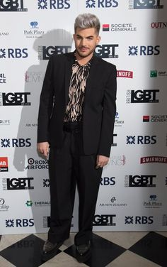 05/13/16 Adam Lambert and Brian May British LGBT Awards