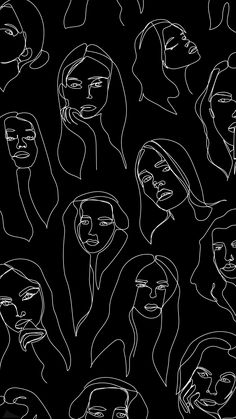 Line Art Wallpaper Drawings - - Iphone Background Wallpaper, Full Hd Wallpaper, Retro Wallpaper, Pastel Wallpaper, Aesthetic Iphone Wallpaper, Aesthetic Wallpapers, Black Wallpaper, Lock Screen Backgrounds, Perfect Wallpaper