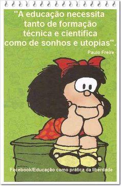 Paulo Freire; Mafalda