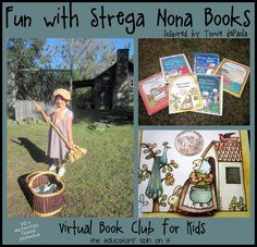 The Educators' Spin On It: Let's have Fun with Strega Nona Books by Tomie dePaula