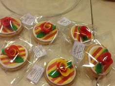 Sant jordi galletas www.ameliabakery.com #santjordi #galletas