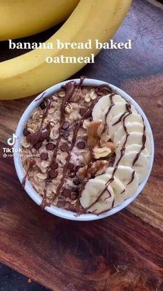 Fun Baking Recipes, Healthy Baking, Healthy Desserts, Snack Recipes, Dessert Recipes, Cooking Recipes, Healthy Recipes, Healthy Food, Yummy Food
