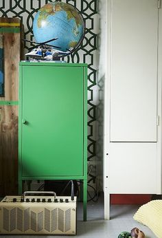 Help kids decorate their room in colours they love - including colourful furniture. Get inspiration for children's room decor at IKEA.com #IKEAIDEAS