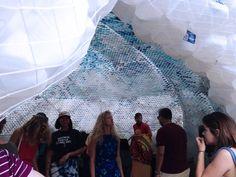 50,000-Plastic-Bottles-Into-a-cloud-7