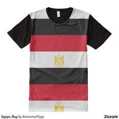 Egypt, flag All-Over print T-Shirt
