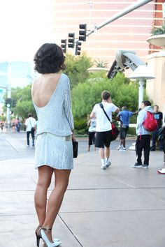 sequins on the strip