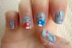 Twitter Nail Art