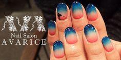 "4Color gradation nails |NailSalon AVARICE""ネイルサロンアバリス""のブログ"