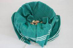 Soft Touch Herringbone Pestemal - Vivid Green Fair Price, Turkish Towels, Herringbone, Hand Weaving, Touch, Green, Stuff To Buy, Color, Fashion