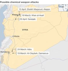 Us has seen Syria chemical weapons evidence