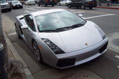 Silver lambo. #Cool #Cars