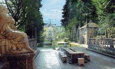 The Trick fountains at Hellbrunn Palace in Salzburg, Austria Croatia Travel, Thailand Travel, Bangkok Thailand, Hawaii Travel, Italy Travel, Stuff To Do, Things To Do, Salzburg Austria, Baroque