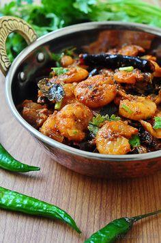 Kerala-Style Chemmeen/Prawn Roast-A Spicy Treat @Reed @Ashlee Shaw-Williams