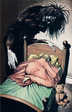 Dream A Little Dream::By Brian Bolland for Neil Gaiman's Sandman Comics www.showamerica.com
