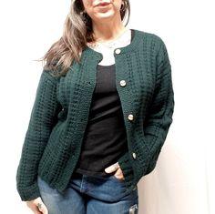 Vtg 36 LL Bean Shetland Wool England Cardigan Cable Knit Sweater Heather  Bin-M  699ec56a6